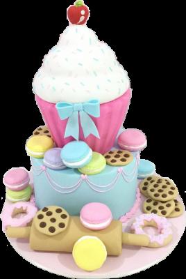 Esculpido Cupcake